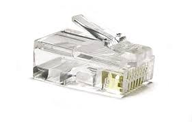 Network Plug / Cat 6 RJ45 (Pack 100 Pcs)